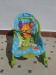 hamaca bebe fisher price y silla plegable de mesa