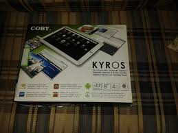 Tablet Coby Kyros mid 8020