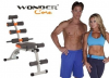 banco de abdominales wonder core
